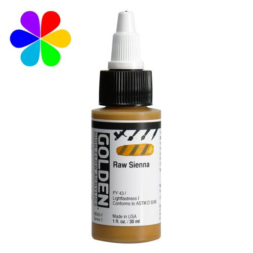GOLDEN 30ML HIGH FLOW TERRE DE SIENNE S1