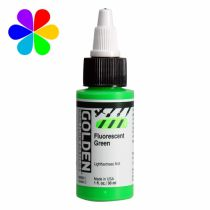 GOLDEN 30ML HIGH FLOW VERT FLUO S5