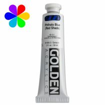 GOLDEN 59ML BLEU PHTALO (NUANCE ROUG) S4