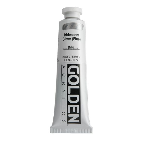 GOLDEN 59ML IRIDESCENT ARGENT FIN S5