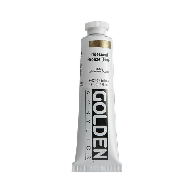GOLDEN 59ML IRIDESCENT BRONZE FIN S7