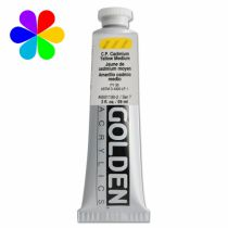 GOLDEN 59ML JAUNE CADMIUM MOYEN IMIT S4