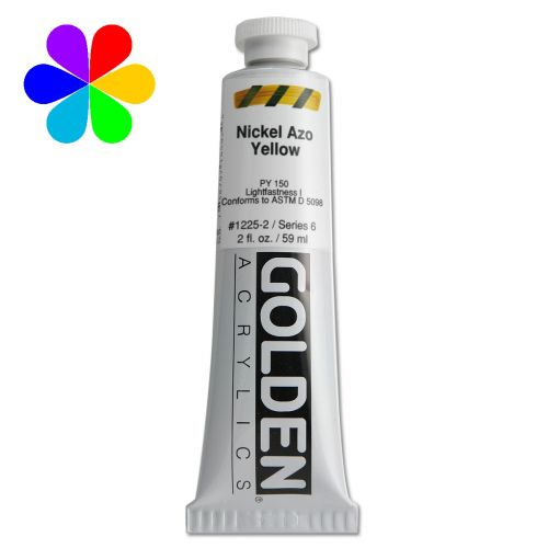 GOLDEN 59ML JAUNE NICKEL AZO S6
