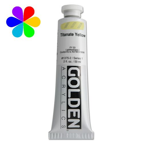GOLDEN 59ML JAUNE TITANE S1