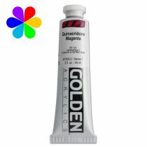 GOLDEN 59ML MAGENTA QUINACRIDONE  S7