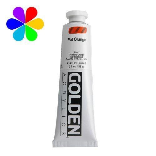 GOLDEN 59ML ORANGE CUVE S8