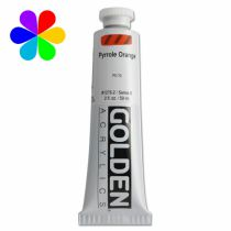 GOLDEN 59ML ORANGE PYRROLE S8