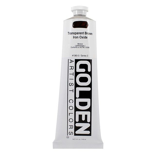 GOLDEN 59ML OXYDE DE FER BRUN TRANSPARENT S3