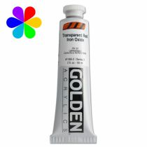GOLDEN 59ML OXYDE FER ROUGE TRANSPARENT S3