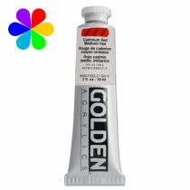 GOLDEN 59ML ROUGE CADMIUM MOYEN IMIT S4