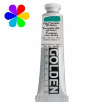 GOLDEN 59ML TURQUOISE CLAIR (PHTALO) S3