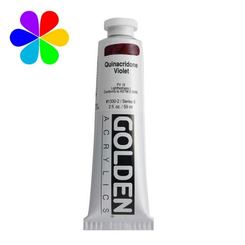 GOLDEN 59ML VIOLET QUINACRIDONE S6