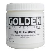 GOLDEN GEL DE BASE MAT 236ML