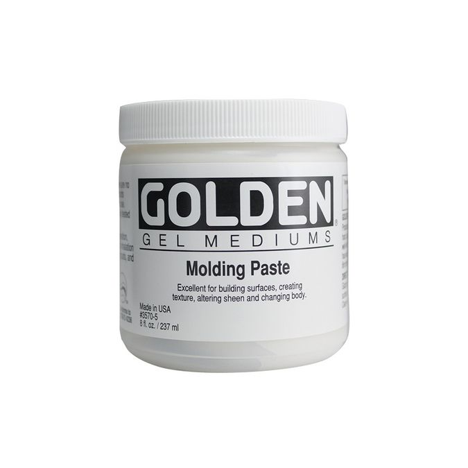 GOLDEN GEL TRES EPAIS ET MODELING PASTE