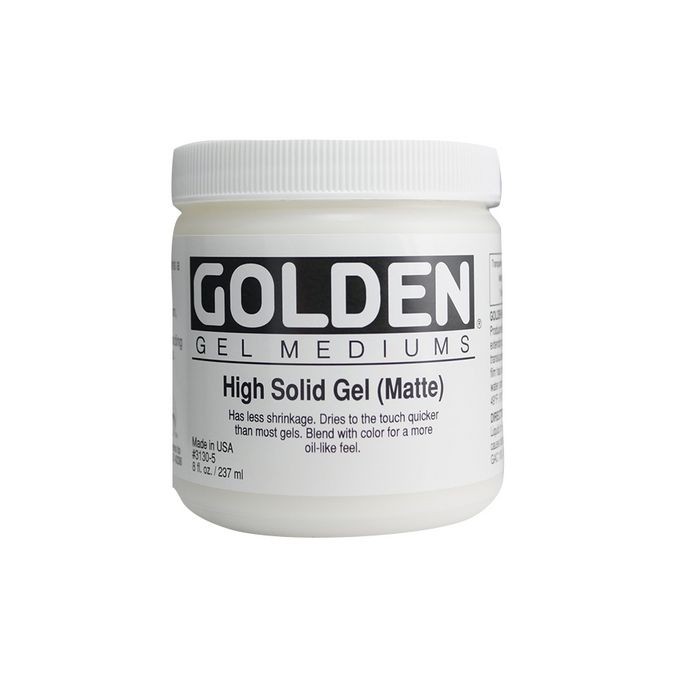 GOLDEN HIGH SOLID GEL MAT 236ML