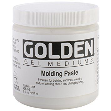 GOLDEN MOLDING PASTE 237 ML