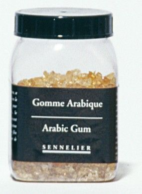 Gomme arabique en grains 100grs Sennelier