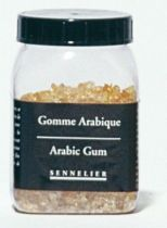 Gomme arabique en grains 100grs Sennelier