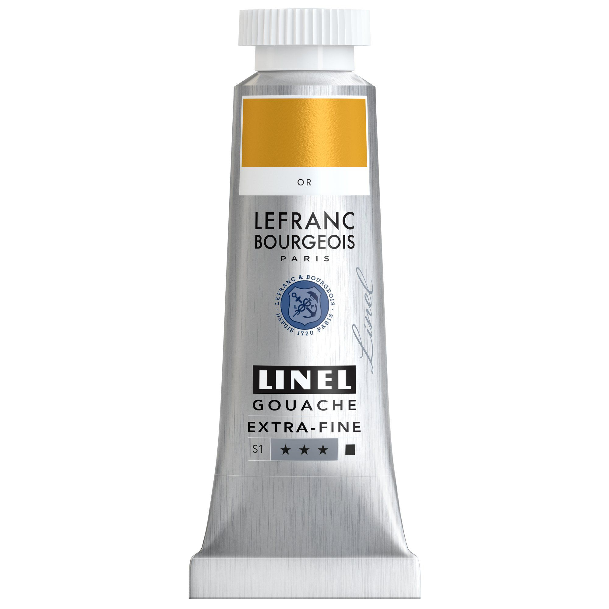 GOUACHE EXTRA-FINE LINEL 14ML OR