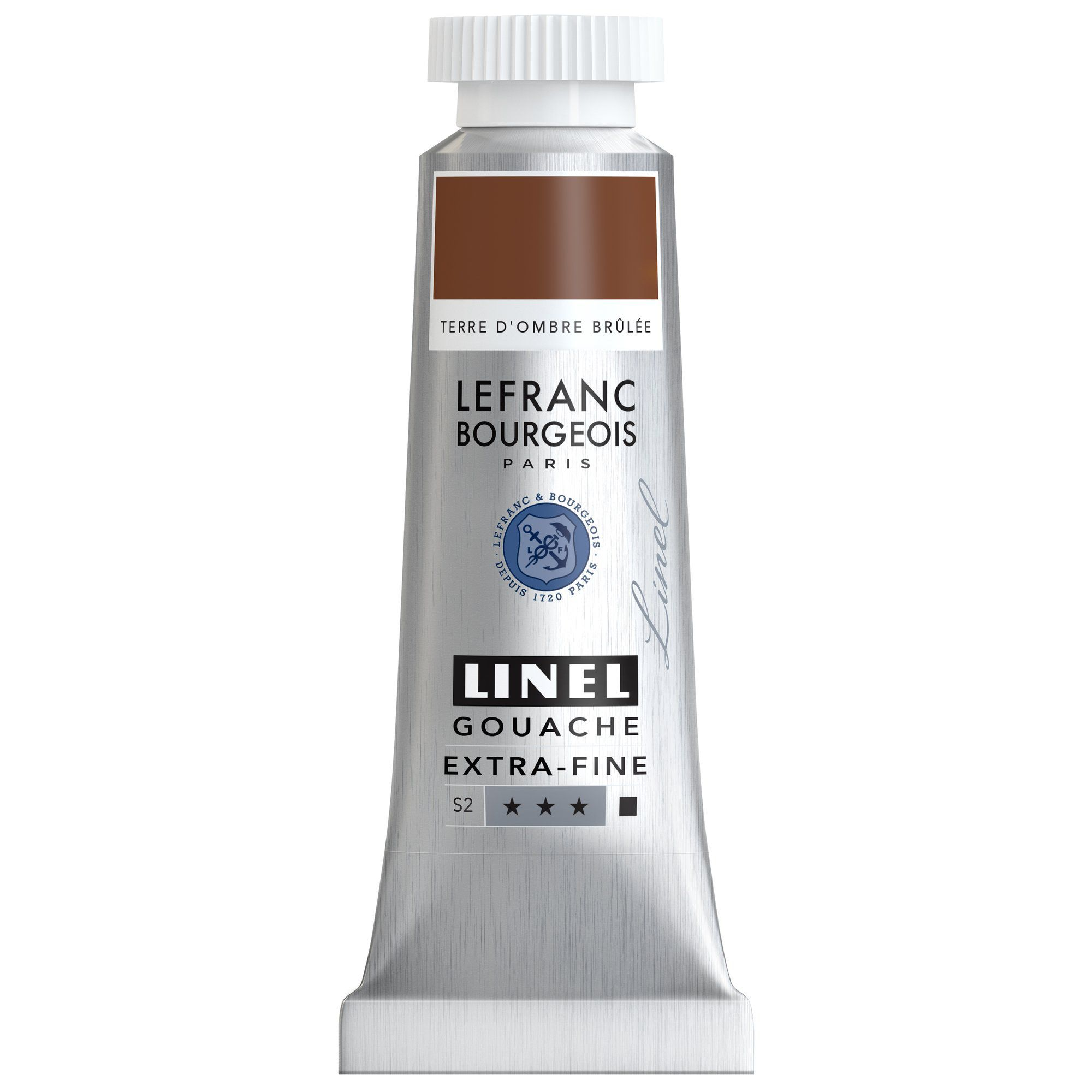 GOUACHE EXTRA-FINE LINEL 14ML TERRE D\'OMBRE BRULEE