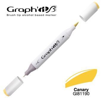 GRAPH\'IT Marqueur brush à alcool 1190 - Canary