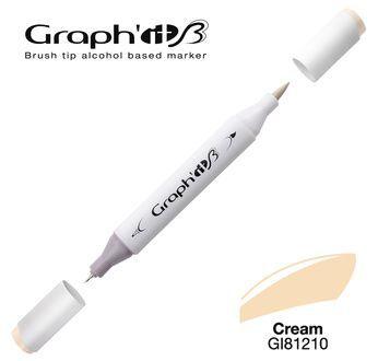 GRAPH\'IT Marqueur brush à alcool 1210 - Cream