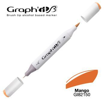 GRAPH\'IT Marqueur brush à alcool 2150 - Mango