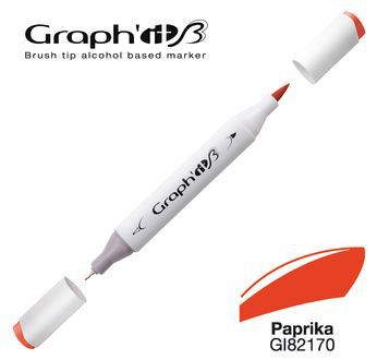 GRAPH\'IT Marqueur brush à alcool 2170 - Paprika