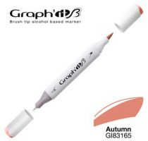 GRAPH IT Marqueur brush à alcool 3165 - Autumn