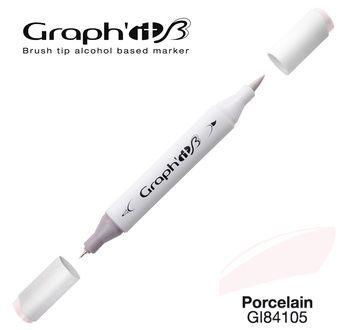 GRAPH\'IT Marqueur brush à alcool 4105 - Porcelain