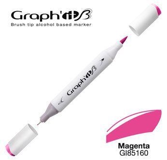 GRAPH\'IT Marqueur brush à alcool 5160 - Magenta