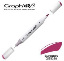 GRAPH\'IT Marqueur brush à alcool 5280 - Burgundy
