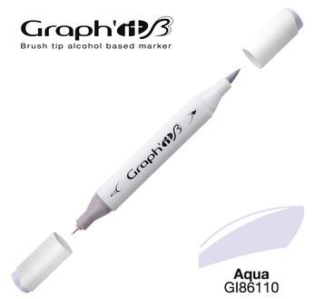 GRAPH\'IT Marqueur brush à alcool 6110 - Aqua