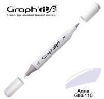 GRAPH\'IT Marqueur brush à alcool 6110 - Aqua
