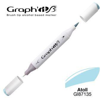 GRAPH\'IT Marqueur brush à alcool 7135 - Atoll
