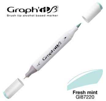 GRAPH\'IT Marqueur brush à alcool 7220 - Fresh mint