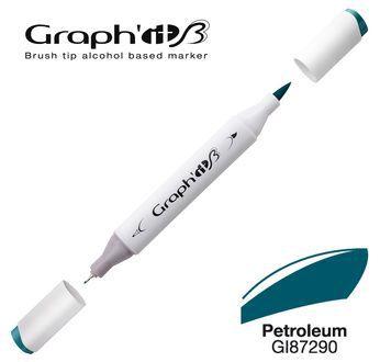GRAPH\'IT Marqueur brush à alcool 7290 - Petroleum