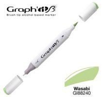 GRAPH\'IT Marqueur brush à alcool 8240 - Wasabi
