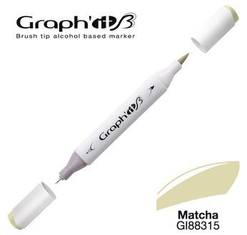 GRAPH\'IT Marqueur brush à alcool 8315 - Matcha