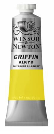 GRIFFIN ALKYD JAUNE CADMIUM CLAIR IMITATION  S1
