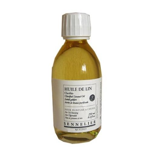 Huile de lin clarifiée 250 ml Sennelier