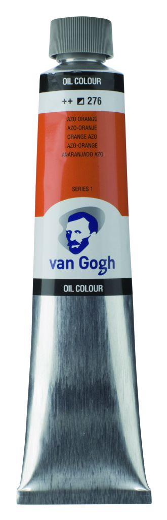 HUILE VAN GOGH 200ML ORANGE AZO