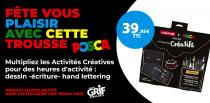 LA TROUSSE DES CREATIFS 16 PIECES
