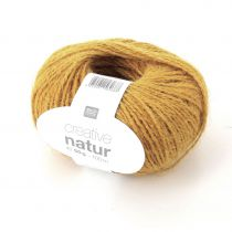 LAINE CREATIVE NATUR CHANVRE MOUTARDE