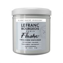 LB FLASHE ACRYLIQUE 125ML POT BLANC NACRÉ IRIDESCENT