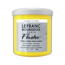 LB FLASHE ACRYLIQUE 125ML POT JAUNE CITRON