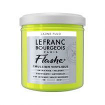 LB FLASHE ACRYLIQUE 125ML POT JAUNE FLUO