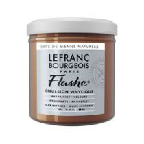 LB FLASHE ACRYLIQUE 125ML POT TERRE DE SIENNE NATURELLE