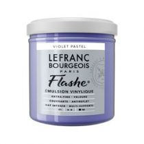 LB FLASHE ACRYLIQUE 125ML POT VIOLET PASTEL