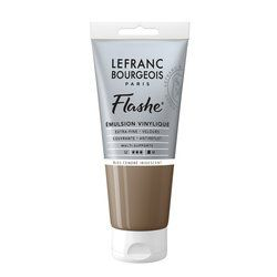 LB FLASHE ACRYLIQUE 80ML TUBE BLEU CENDRÉ IRIDESCENT